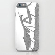Praying Mantis B/W iPhone 6s Slim Case