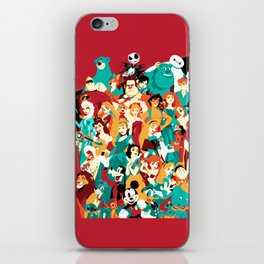 Mouse House Heroes iPhone Skin