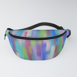 Blue lines pattern Fanny Pack
