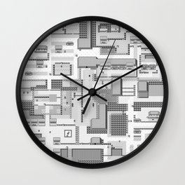 Gamers Have Hearts - Classic Safari Wall Clock