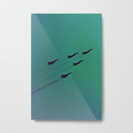Jetspeed Metal Print