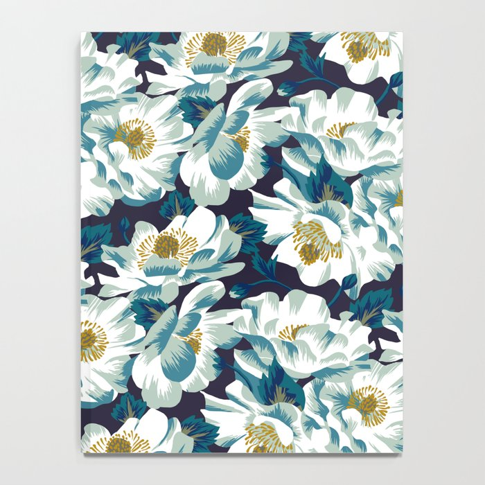 Mount Cook Lily (Night) Notebook