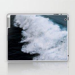 Powerful breaking wave in the Atlantic Ocean - Landscape Photography Laptop & iPad Skin