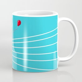 Astro Balloon | My Balloon Friend | Astronaut in Forest | Cosmonaut | pulps of wood Coffee Mug