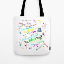 80's Tote Bag