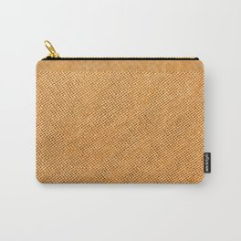 Bright hessian texture abstract Carry-All Pouch