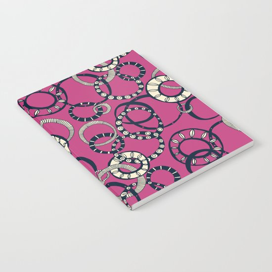 Honolulu hoopla pink Notebook