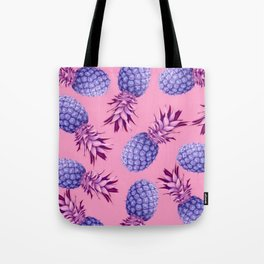 Violet pineapples Tote Bag