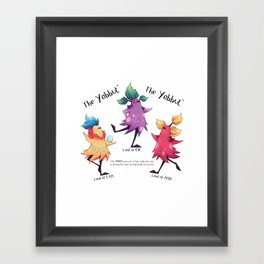 Dancing Yabbuts Framed Art Print