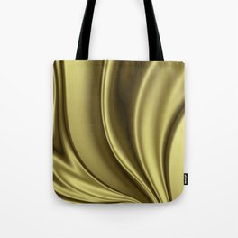 Abstract Fractal Colorways 02 Simple Gold Tote Bag