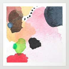 Abstract Mini #26 Art Print