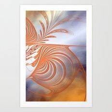 abstract dream -2- Art Print