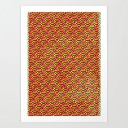 Lollipop Field Art Print