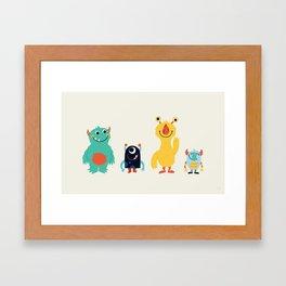 Saturday Framed Art Print