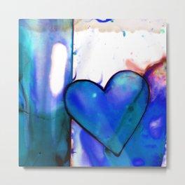 Heart Dreams 1G by Kathy Morton Stanion Metal Print