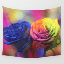 Colour Your Life Wall Tapestry