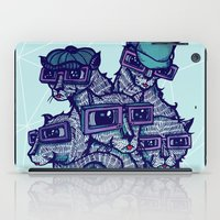 school iPad Cases featuring Art School by littleclyde