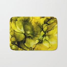 Golden nebula Bath Mat