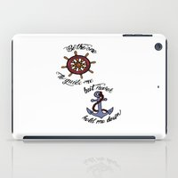 larry stylinson iPad Cases featuring Helm and Anchor. (Larry Stylinson) by Arabella