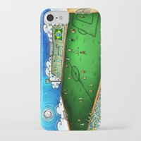 brasil iPhone & iPod Cases featuring Brasil by Henrique Abreu