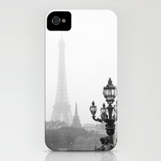 Veiled Eiffel Tower Slim Case iPhone (4, 4s)