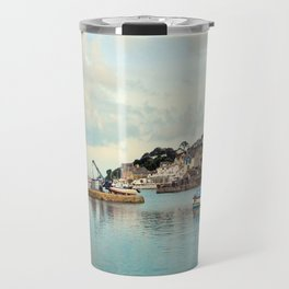 Fishing town Travel Mug