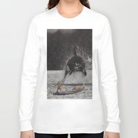 orca Long Sleeve T-shirts featuring Orca by Lerson