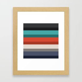Accordion Fold Series Style F Framed Art Print