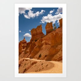 Bryce_Canyon National_Park, Utah - 3 Art Print