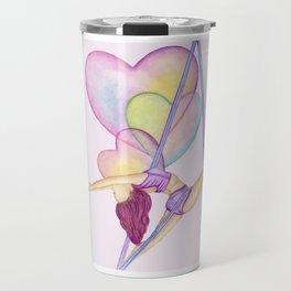 Aerial Hammock, Heart Opener, Back Bend  Travel Mug