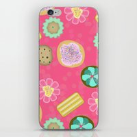 cookies iPhone & iPod Skins featuring Cookies by Party Peeps