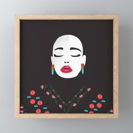 sigh Framed Mini Art Print