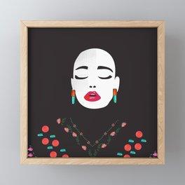 sigh Framed Mini Art Print
