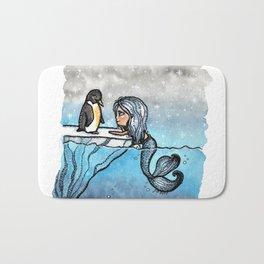 Antarctic Mermaid Bath Mat