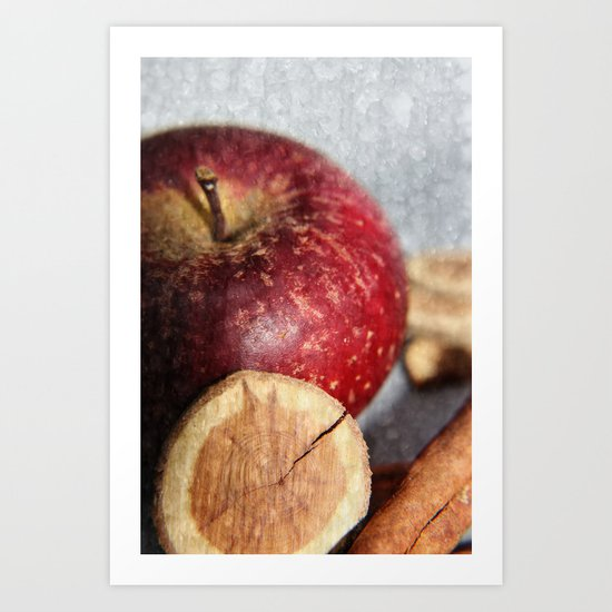 Taste of Winter Art Print