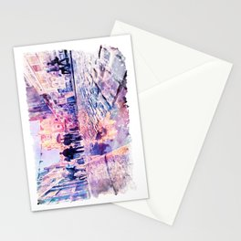Dublin Watercolor Streetscape Stationery Cards