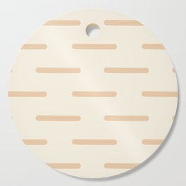 Line by Line Neutral Cutting Board