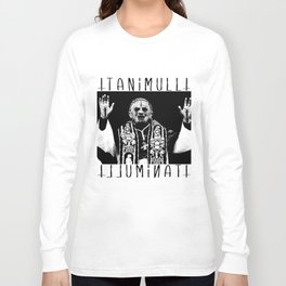 You Taste Like Death Pope Long Sleeve T-shirt