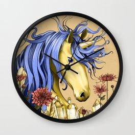 November Unicorn Wall Clock