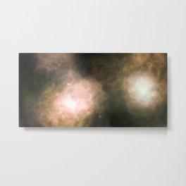 Colliding nebulas Metal Print