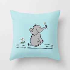 Jeffery Elephant Throw Pillow