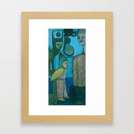 Mechanisms of Belief 3 Framed Art Print