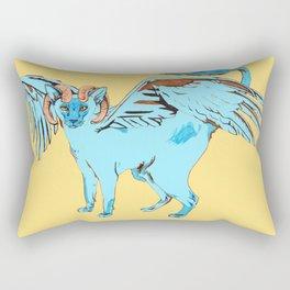Cat Dragon Rectangular Pillow