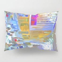 Kings Cross Station London Art Pillow Sham