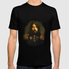 Dave Grohl - replaceface LARGE Black Mens Fitted Tee