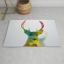 Glass Animal - Deer head Rug