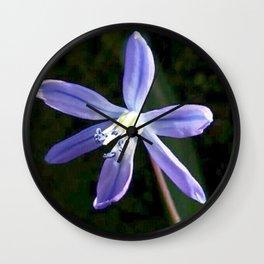 Scilla Blossom Wall Clock