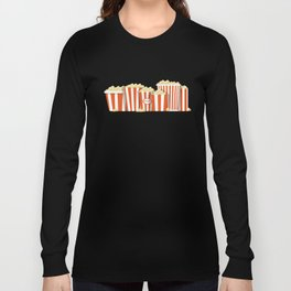 Movies and Popcorn Long Sleeve T-shirt