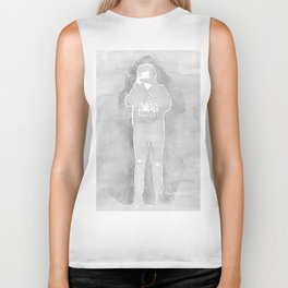 Harry Styles gray Biker Tank