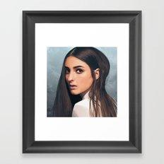 BANKS Framed Art Print